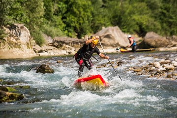 Flusswasser Stand Up Paddling, canyoning-team.com